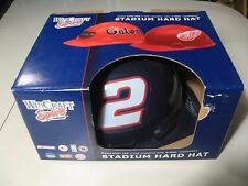 NASCAR Stadium Hard Hat: #2 Rusty Wallace (New in Box) RARE Miller Lite Logo