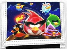 ANGRY BIRDS SILVER BLUE WALLET BY ROVIO-ANGRY BIRDS TRI-FOLD WALLET-NEW W/ TAGS!