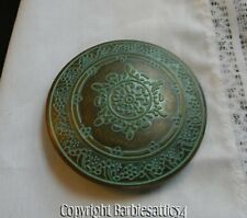 Vintage Round Brass? Belt Buckle