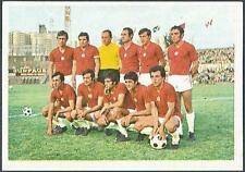 FKS 1975/76 SOCCER STARS '75'76-#336-CSKA SOFIA TEAM PHOTO