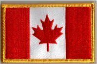 Canada Canadian Country Flag Embroidered Patch T8