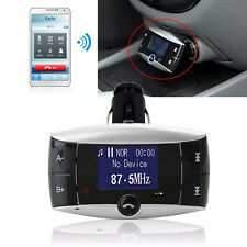 Bluetooth Auto KFZ Transmitter Musik MP3 Player FM Freisprechanlage SD/MMC/USB