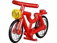 Lego Vélo rouge pour figurine Neuf / Red Bicycle NEW REF 4719c01