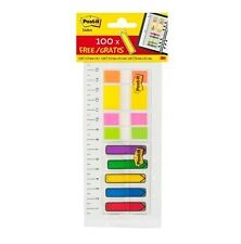 180 Coloured Post-It Index  Ruler • 3M