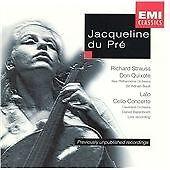 EMI CLASSICS Jacqueline du Pre - Strauss: Don Quixote/Lalo: Cello Concerto - VGC