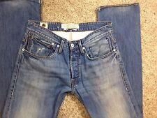 Kuyichi Organic Cotton Daniel Reg fit Jeans Soft Combed Blue Wash 33x34 (tag 31)