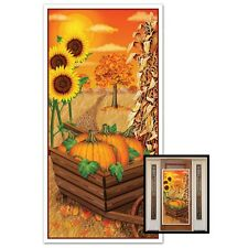 Festive FALL Harvest Wall DOOR COVER Autumn Decoration THANKSGIVING Party PROP