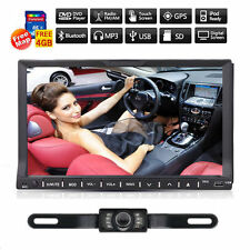 "7"" Touchscreen 2 Din Car DVD Player Radio Stereo In Dash GPS Navi iPod TV BT+CAM"