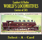 Lambert & Butler: WORLD'S LOCOMOTIVES (series of 50) - Select - A - Card