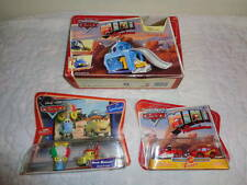 Disney Cars Mini Adventures Movie Moments Playset Lot Guido Luigi McQueen Ramone