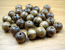 FREE LOT 100PCS Wood Ball Spacer Bracelets Findings Loose Prayer beads 8mm
