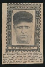"1936 Atlanta Georgian-American ""Sport Stamp"" -CLAY TOUCHSTONE (Memphis Chicks)"