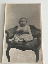 Vintage Early Postcard  - Frank Cohill - Young Child Baby - Early 1900s