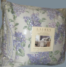 RALPH LAUREN Queen Comforter and Shams 4PCS LAVENDER purple FLORAL