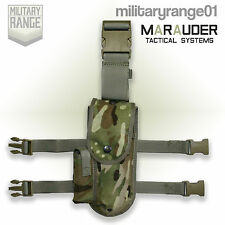 Marauder 9mm Browning Holster - Drop-Leg - British Army Multicam MTP - UK Made