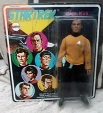 "STAR TREK Original CLOTH  KIRK  MEGO 8"" FIGURE 1974 Vintage red logo"