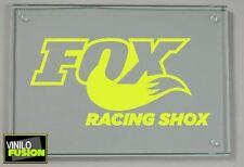 2 Pegatinas vinilo Amarillo fluorescente FOX,  no 327