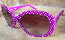 new Juicy Couture JU 517/S Dragon Fruit Dot Pink Frame Sunglasses Shades Women's