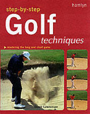 Lawrenson, Derek Step-by-step Golf Techniques Very Good Book