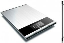 Ozeri Ultra Thin Professional Digital Kitchen Food Scale, in Elegant Stainless