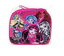 NEW Licensed Mattel Monster High Pink Lunch Bag Box with FREE Water Bottle