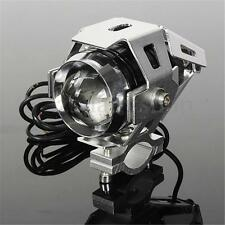 CHROME U5 125W 3000LM 12V 24V MOTORCYCLE LED SPOT DRIVING FOG LAMP HEAD LIGHT
