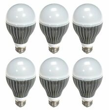 Pixi Lighting A19E-6WX 6.5-Watt (25-Watt) LED Light Bulbs 6 Pack Warm Color