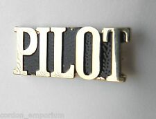 UNITED STATES AIR FORCE USAF SCRIPT PILOT LAPEL PIN BADGE 1 INCH