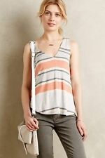 ANTHROPOLIGIE Lissie Tank by Bordeaux in Coral Sz XL (16) BRAND NEW WITHOUT TAGS