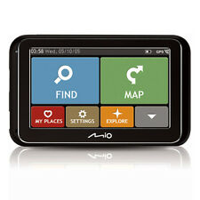 "Mio Spirit 4800 4.3"" Full European 44 Country Mapping IQ Routes GPS Sat Nav"