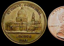 S228: 1872 St Paul's Cathedral Medal - Albert Edward Prince of Wales
