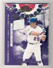 2001 Playoff Home Opener Souvenirs Rafael Palmeiro Base Card 287/400 Made