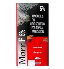Morr-F (Minoxidil/Fin.) 5%/0.1% (60mL) Hair regrowth FDA approved DHT Blocker