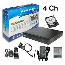 Sunvision CCTV 4 Ch Real-time Surveillance CIF H.264 Network DVR + 1TB HDD