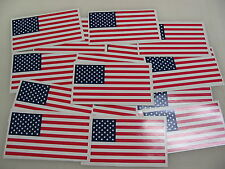 100 USA FLAG Sticker Decal LOT 4 boat car Window Truck suv Wholesale American