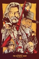POSTER THE HATEFUL EIGHT 8 QUENTIN TARANTINO SAMUEL L. JACKSON KURT RUSSELL #19