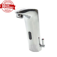 Infrared Sensor Activated Wash Basin Monobloc Mixer Tap Chrome With Side Lever 3