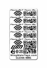 Smart NFC Stickers Pack of 5! Pilot supplies. Travel supplies. Travel assistant