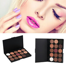 Hot 15 Color Professional Cosmetic Eye Shadow Pigments Makeup Palette Matte IP
