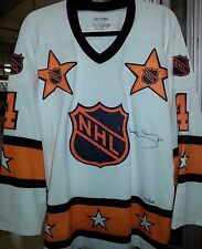RARE!! BOBBY ORR 1972-73 AUTO'D ALL-STAR JERSEY LIMITED EDITION 123/144 GNR/COA