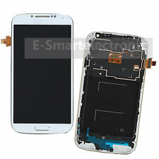 LCD Display Touch Screen Digitizer + Frame For Samsung Galaxy S4 i9505 White
