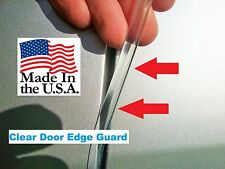 CLEAR DOOR EDGE GUARDS  25 Foot Roll for 2 cars! Quality made in the USA!!