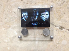 Batman Begins Two-Face's Double Sided Coins with Designer Acrylic Frame