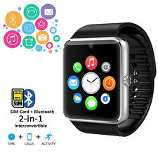 Universal Bluetooth SmartWatch For Apple iOS Samsung Android Nokia Windows Phone
