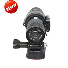 NEW HD 1080P Mini Metal Fire Proof Camera Helmet Cam Firefighter Water Resi