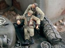 """Verlinden 1/35 """"The Rescue"""" US Tanker Saving his Wounded Crewman WWII 1813"""