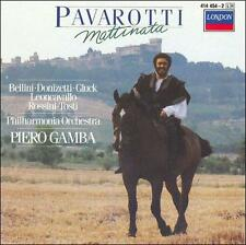 Pavarotti: Mattinata 1990 by Bellini; Donizetti; Gluck; Leoncavallo; Rossini; To