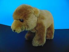 Dakin Grizzly Brown Bear 1986 on all Fours!   Cute!! Vintage