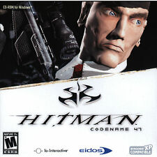 Hitman Codename 47 98/ME/XP/Vista Strategy Game * New Ship Free