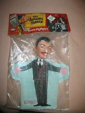"""Vintage 1964 """"Addams Family"""" Gomez Hand Puppet....Original Package!!!!!"""